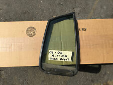 02 03 04 05 06 Nissan Altima OEM Rear Door Quarter Glass Window RH Right
