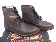 New! Harley-Davidson Men's Willie G Aldrich Grey/Ash Motorcycle Boots -Size 11.5