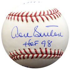 DON SUTTON AUTOGRAPHED MLB BASEBALL DODGERS STATBALL WITH 7 STATS PSA/DNA 20442