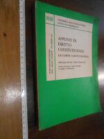 LIBRO:Appunti di diritto costituzionale.La Corte Costituzionale-Crisafulli Vezio