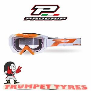 Progrip Goggles Mask 3200 Light Sensitive No Fog Anti Scratch Venom MX Off Road