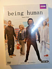 Being Human: Season Three DVD 3-Disc Box Set BBC TV series vampire werewolf NEW!