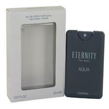 Eternity Aqua by Calvin Klein 0.67 oz EDT Travel Cologne for Men New In Box