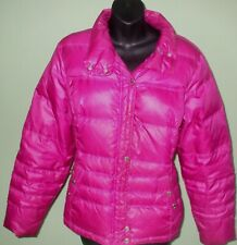 Ariat Women's Purple/Pink Duck Down Puffer Jacket Quilted Winter Coat