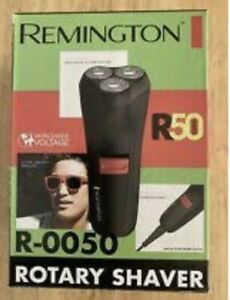 Remington ELECTRIC ROTARY SHAVER Twin Track Cutting System Stainless Steel Blade