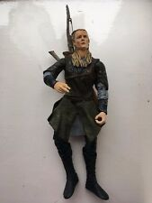 """HUGE 12"""" LORD OF THE RINGS LEGOLAS DELUXE POSEABLE MARVEL ACTION FIGURE + BOW"""