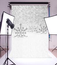Winter snowflakes Photography Backgrounds 3x5ft Vinyl Photo Backdrops
