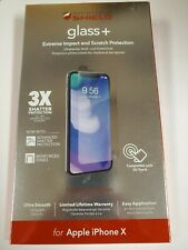 ZAGG Invisible Shield Glass+ Screen Protector for Apple iPhone X & iPhone XS NEW
