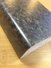 3mtr JET 30mm Laminate (black granite) kitchen / bathroom Worktop - 10 ft long