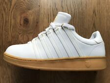 K Swiss VN Classic 50th White And Gold Anniversary Trainers 10 New Tennis