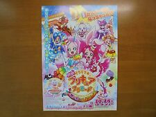 KIRAKIRA Precure A LaMode MOVIE FLYER mini poster chirashi Japan 29-7