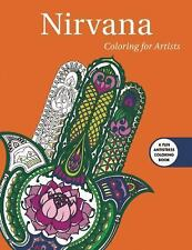 Creative Stress Relieving Adult Coloring Book: Nirvana: Coloring for Artists...