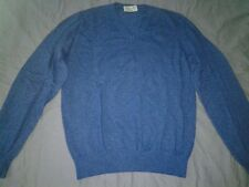 Pull en cachemire col V Cashemire silk company homme taille M Sweat men wool M