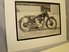 1934 Sunbeam Model 95R Motorcycle Exhibit From National Motorcycle Museum
