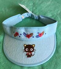 NEW Sanrio Chococat Adult Sun Visor Cap/Hat in Tropical Design Sweat Absorbent
