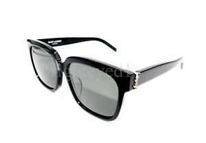 Authentic YVES SAINT LAURENT Black Sunglasses SL M40/F-003 *NEW*