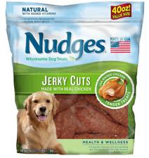 Nudges Health Wellness Chicken Jerky Dog Treats 40 Oz.