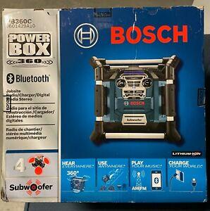 Bosch PB360C Power Box Jobsite Radio/Charger/Digital Media Stereo Bluetooth