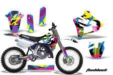 Yamaha YZ250 Graphic Kit Wrap Dirt Bike Decals MX Stickers 1991-1992 FLASHBACK