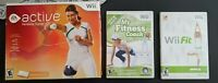 Nintendo Wii Fitness Games - EA Sports Active Personal Trainer, Wii Fit