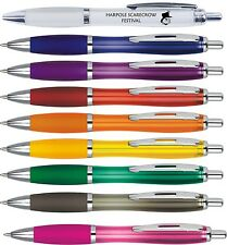 Printed Personalised Promotional Pens x 100