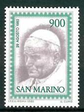 SAN MARINO - 1982 - Visita di Giovanni Paolo II° a San Marino