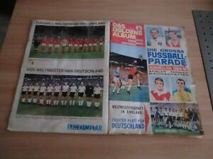 Sammelbilder, Sammelalbum Fußball-Parade 1966/67, Komplett, Sicker-Verlag