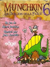 EDGE : MUNCHKIN EXTENSION 6 LE DONJON DE LA FARCE 1ERE EDITION