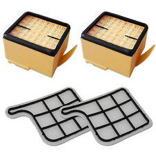 2 HEPA Filter / Mikrofilter + 2 Motorfilter geeignet Für Vorwerk Kobold 135 136