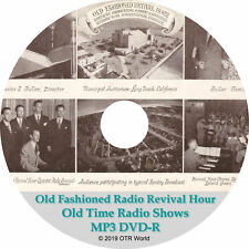 Old Fashioned Revival Hour Old Time Radio Shows OTR OTRS 3 Episodes MP3 CD-R