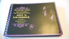 Rare!! Acuff-Rose 1973 John D Loudermilk  Standards Catalog Songbook