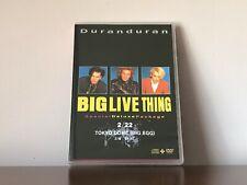 Duran Duran BIG LIVE THING Genuine CD/DVD Tokyo Dome JAPAN 2/22/1989 Cuccurullo