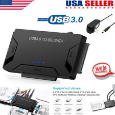 "USB 3.0 to IDE/SATA Converter Adapter Universal For 2.5""/3.5"" HDD/SSD Hard Drive"
