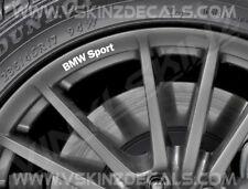 8x BMW Sport Logo Premium Quality Wheel Rim Decals Stickers Alpina M3 M4 X3 X5