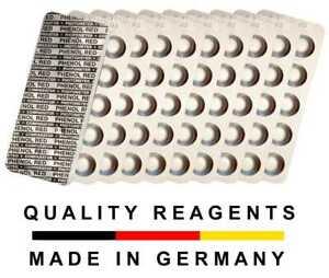 Testtabletten für Photometer / elektr. Wassertester Water-I.D. Made in Germany