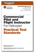 Commercial Pilot & CFI for Helicopter - Practical Test Standards (PTS) 8081-16B