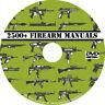 2500+ Firearm Manuals DVD Rifle Carbine Pistol Shotgun Revolver Gun pdf CD Disc