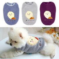 Ropa para Mascotas Suéter Chihuahua Yorkie Perro Pequeño Abrigo Chaqueta Polar