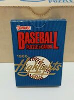 1986 DONRUSS HIGHLIGHTS COMPLETE SET 56 CARDS includes Bo Jackson RC NEW