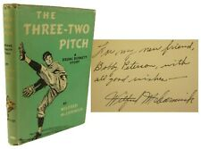 signed, 1948 The Three-Two Pitch, A Bronc Burnett Story by Wilfred McCormick