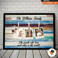 PERSONALISED FAMILY PRINT GIFT FOR CHRISTMAS PRESENT DAD GRANDAD UNCLE HIM
