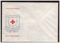 DDR, FDC Blutspendewesen, 1966 blanko
