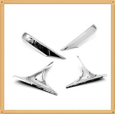 Chrome Door Side Mirror Trim For 08-15 BMW 7 Series Only (F01-03)
