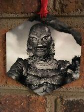 Creature From the Black Lagoon Halloween Aluminum Christmas Ornament