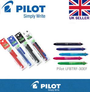 Pilot Frixion Multi Pen 05 tip Erasable Pen REFILLS Refills black/blue/red/green
