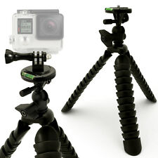 GRANDE treppiede flessibile Sgancio Rapido + Action Camera Mount con Vite & Dado