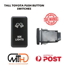 TOYOTA Dash Replacement Push Rocker Switch Hilux Landcruiser LED Side Light