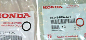 NEW GENUINE HONDA POWER STEERING HIGH & LOW PRESSURE HOSE LINE ORING KIT