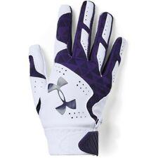 Under Armour Radar YOUTH Batting Gloves, Girls Size M, L, Purple, White B15 P