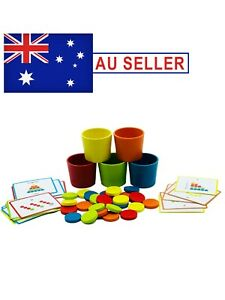 Montessori Early Educational Sensory Wooden Colour Classification Toy for Kids
